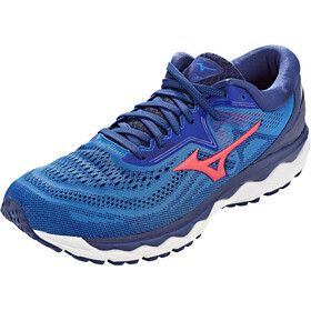 Mizuno Wave Sky 4 Schoenen Heren, patriot blue/diva pink/2768c
